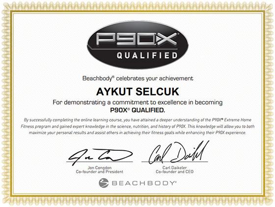 Aykut Certification