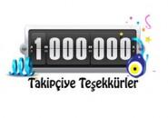 1 Milyon Takipçi Kutlamaları!