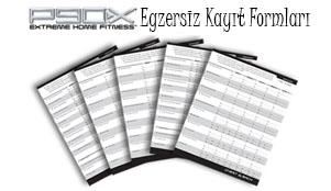 Egzersiz Kayıt Formlari