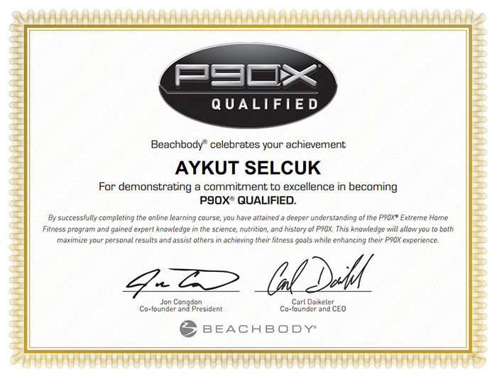 Aykut Certification