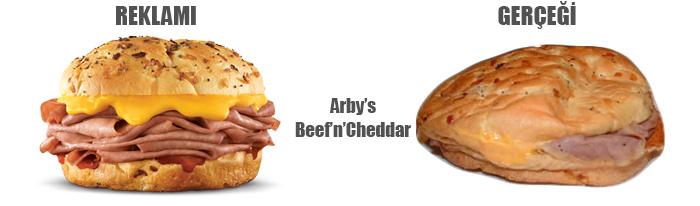 Arbys Beef Cheddar