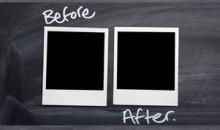 """""""Önce & Sonra"""" Fotoğraf Çekimi Hakkında"""