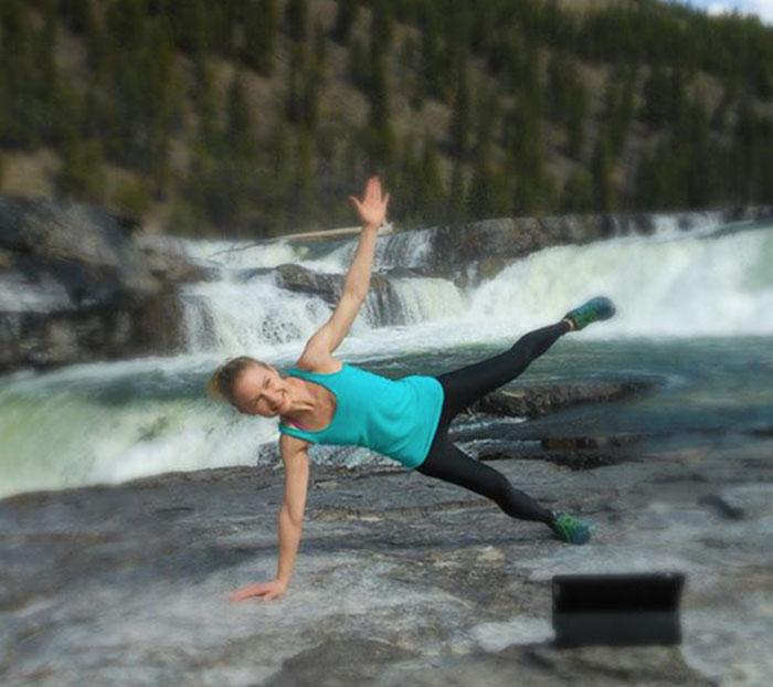 Şelale Yoga