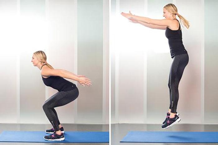 Squat ve Zıpla