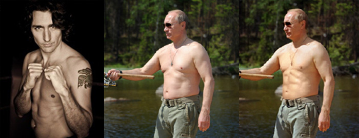 Putin vs Justin