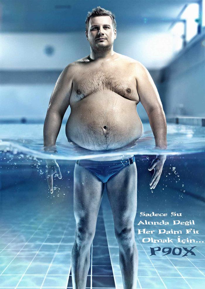 Su altı ilizyon erkek