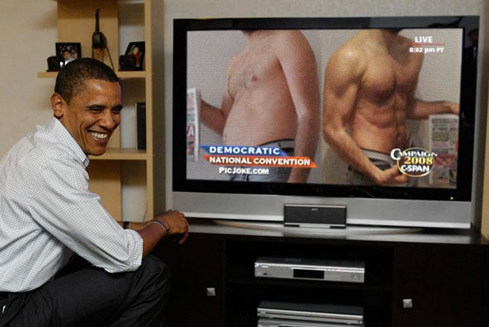 Obama Erdogan TV