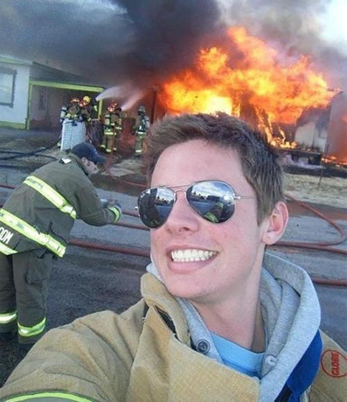 FIRE SELFIE