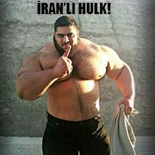 Gerçek Hulk, İran'da Bulundu!