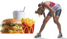 Egzersiz 1 Adım İleriyse, Kötü Beslenme 2 Adım Geridir!